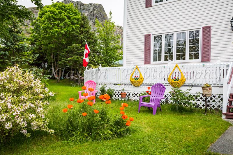 A home near Bay Roberts, Newfoundland and Labrador, Canada.