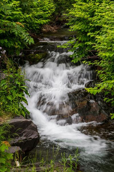 A small waterfall near Bay Roberts, Newfoundland and Labrador, Canada.