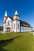 The historic Memorial United Church in Bonavista, Newfoundland and Labrador, Canada.
