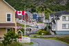 The picturesque fishing village of Brigus, Newfoundland and Labrador, Canada.