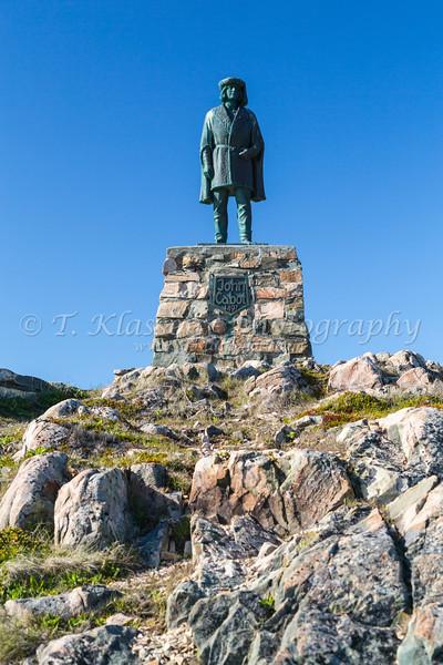 The John Cabot landing site Cape Bonavista, Newfoundland and Labrador, Canada.