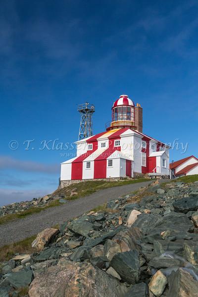 The Cape Bonavista lighthouse, Newfoundland and Labrador, Canada.