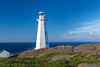 The Cape Spear Lighthouse National Historic Site, Newfoundland and Labrador, Canada.