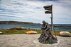 The Sealers Memorial at Elliston, Newfoundland and Labrador, Canada.