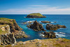 Offshore rocks and islands at Elliston, Newfoundland and Labrador, Canada.