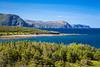 Coastal scenery in Gros Morne National Park, Newfoundland and Labrador, Canada.