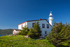 Lobster Cove Head lighthouse, Gros Morne National Park, Newfoundland and Labrador, Canada.