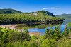 Coastal scenery in Gros Morne National Park, Newfoundland and Labrador, Canada.