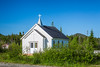A small church in Gros Morne National Park, Newfoundland and Labrador, Canada.