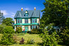 A restored historic mansion at Harbour Grace, Newfoundland and Labrador, Canada.