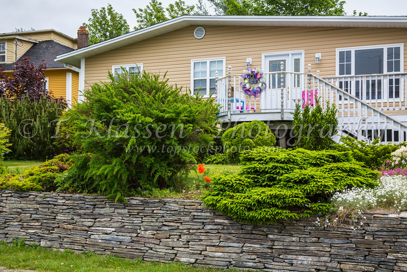 A home  near Harbour Grace, Newfoundland and Labrador, Canada.