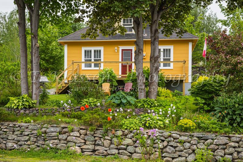 A home  near Harbour Grace, Newfoundland and Labrador, Canada.