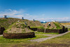 The L'Anse aux Meadows National Historic Site near St. Anthony, Newfoundland and Labrador, Canada.