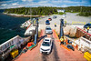 Loading the Fogo Island ferry at Scag Harbour, Newfoundland and Labrador, Canada.