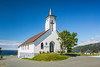 The United Church building in Topsail, Newfoundland and Labrador, Canada.