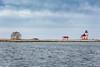 The Flower Cove Island lighthouse, Newfoundland and Labrador, Canada.