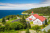 A church by the sea near Portugal cove and St. Philips, Newfoundland and Labrador, Canada.