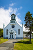 The Holy Rosary Roman Catholic Church in Portugal Cove, Newfoundland and Labrador, Canada.