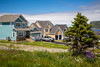 A modern housing development in Portugal Cove, Newfoundland and Labrador, Canada.
