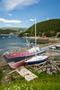 Fishing boats in the harbour at Norris Point, Newfoundland and Labrador, Canada.