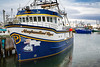 Closeups of fishing boats in the harbour at Port de Grave, Newfoundland and Labrador, Canada.