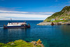The Bell Island Ferry at Portugal Cove, Newfoundland and Labrador, Canada.