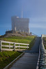 The Cabot Tower on signal Hill near St. John's, Newfoundland and Labrador, Canada.