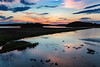 A wetlands sunset near St. Anthony, Newfoundland and Labrador, Canada.