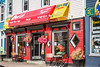 The colorful Bagel Cafe in downtown St. John's Newfoundland and Labrador, Canada.