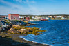 The harbour at the fishing village of Tilting, Fogo Island, Newfoundland and Labrador, Canada.