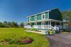 The Sheppard's B&B home near Trout River, Newfoundland and Labrador, Canada.