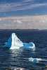 Icebergs in the waters at Twillingate, Newfoundland and Labrador, Canada.