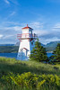 A small lighthouse at Woody Point, Newfoundland and Labrador, Canada.