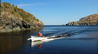 A perfect day on the water, Trout River, Newfoundland