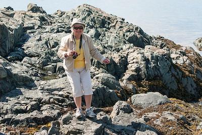 Iceberg^^ on the rocks!