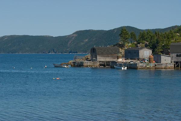 La Scie, Ming's Bight, Harbour Round, Bryant's Cove