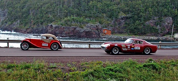 Leading Tickles, Targa, Glover's Harbour 2005