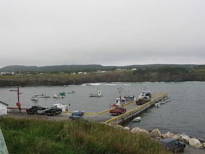 Wharf Ochre Pit Cove