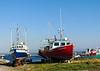 Boats ashore, Cow Head