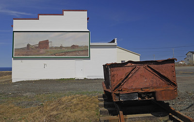 Mural on Bell Island
