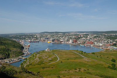 St John's Harbour from Signal HIll
