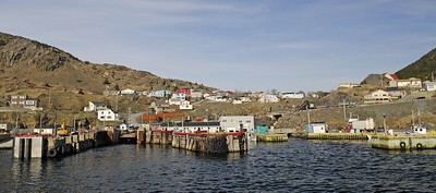Portugal Cove, leaving the ferry dock
