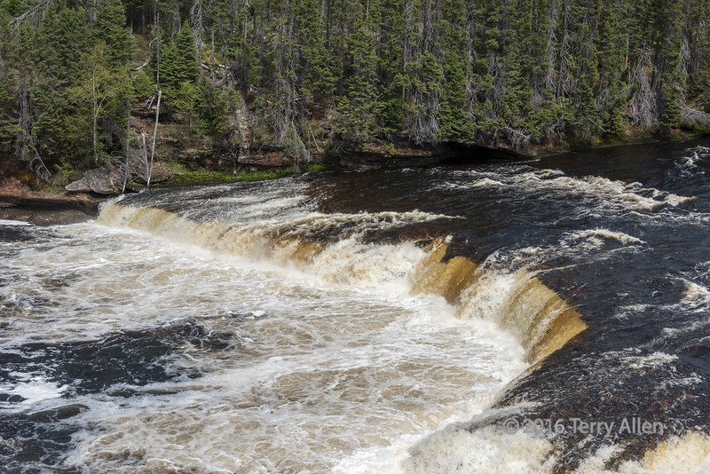 Big Falls on the Humber (salmon) River, Sir Richard Squires Provicial Park, Newfoundland