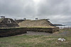 The sod houses of L'anse aux Meadows, Newfoundland
