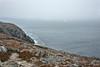 Rocky coast with lichens, Quirpon Island, Strait of Belle Isle, Newfoundland