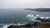 Stormy, rocky shores of Quirpon Island, Strait of Belle Isle, Newfoundland