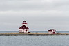 Flowers Island lighthouse, 1877 to 1968, Flowers Cove, Newfoundland