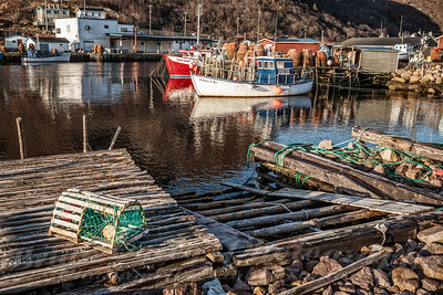 Lobster Stage at Petty Harbour Newfoundland