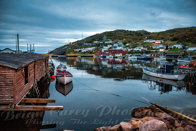 Morning Twilight at Petty Harbour