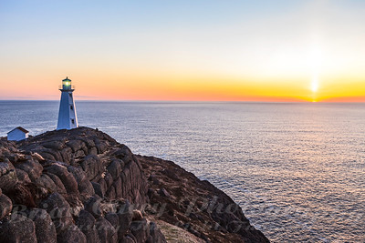 Cape Spear Sunrise April 22 2012 5:51 am